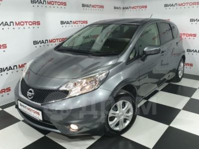 Nissan Note 1.2hyb AT (79 л.с.) 2016