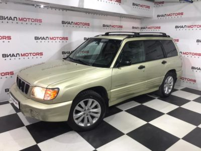 Subaru Forester 2.5 AT (165 л.с.) 4WD 2002