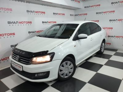 Volkswagen Polo 1.6 AT (110 л.с.) 2018