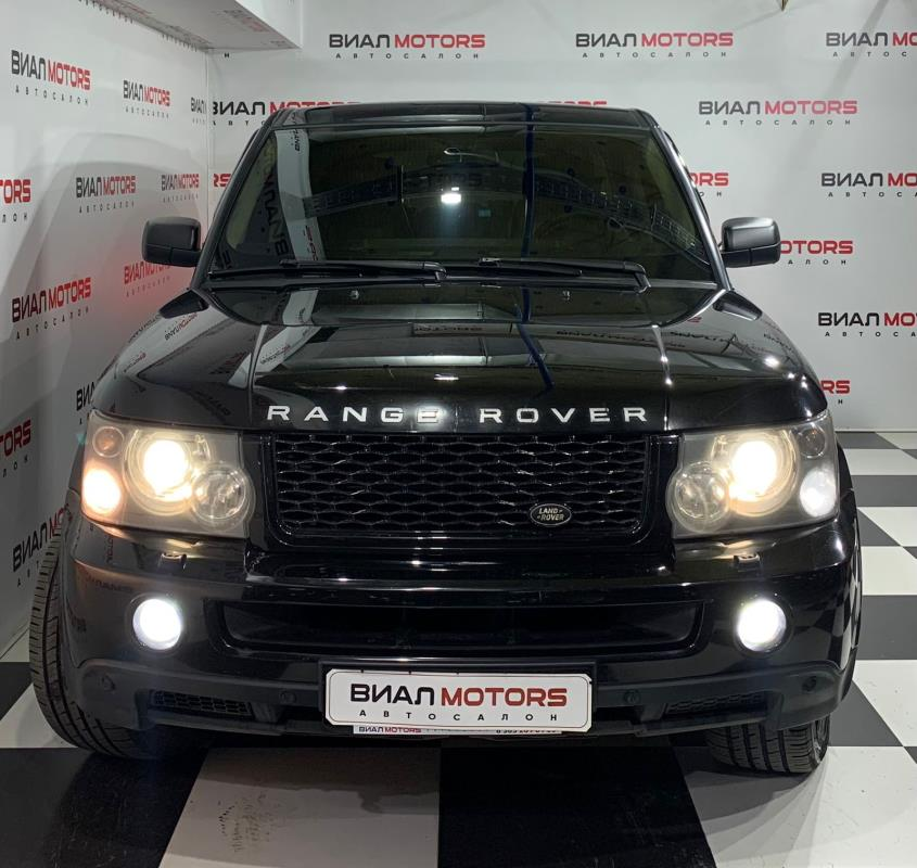 Land Rover Range Rover Sport 3.6d AT (272 л.с.) 4WD 2008